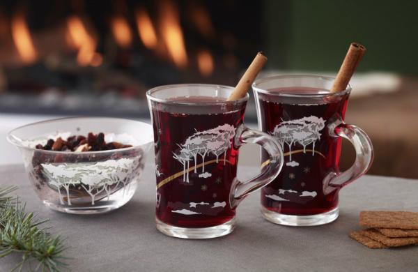 Holmegaard Weihnachten 2017 Hot Drink 24 cl 2 Stueck