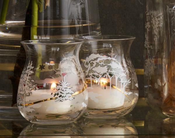 Holmegaard Weihnachten 2017 Teelichtleuchter 2 Stueck