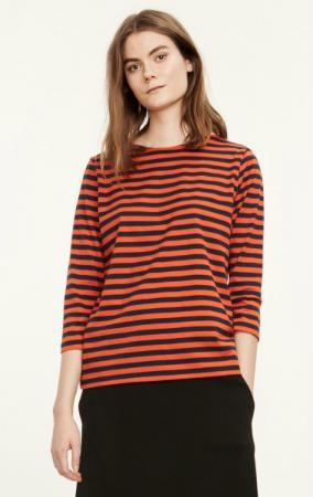 Marimekko Tasaraita Ilma T-Shirt blau orange limitiert