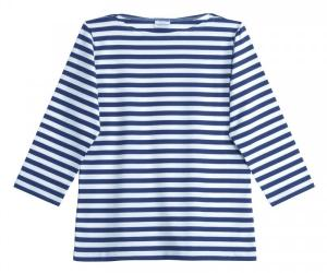 Marimekko Tasaraita Ilma T-Shirt blau weiss