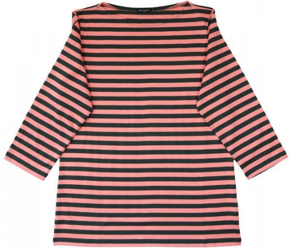 Marimekko Tasaraita Ilma T-Shirt heide braun limitiert