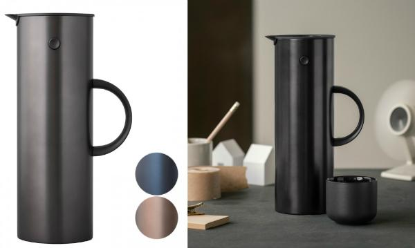 stelton isolierkanne em77 scandinavian lifestyle magazin. Black Bedroom Furniture Sets. Home Design Ideas