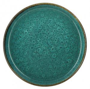 Bitz-zweifarbig-Teller-gruen-27-cm