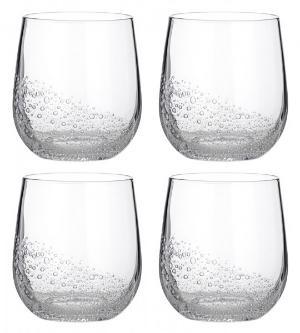 Broste Copenhagen Bubble Glas 0,35 l 4 Stueck