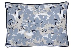 Bloomingville Kissen blau 50x35 cm