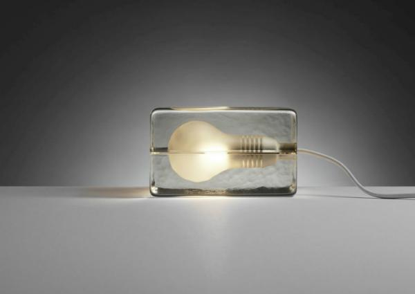 Design House Block Lampe Hoehe 9 cm