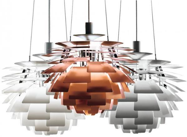 Louis Poulsen PH Zapfen Pendelleuchte Durchmesser 48 cm