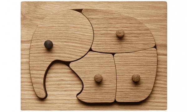 Georg-Jensen-Elefant-Puzzle