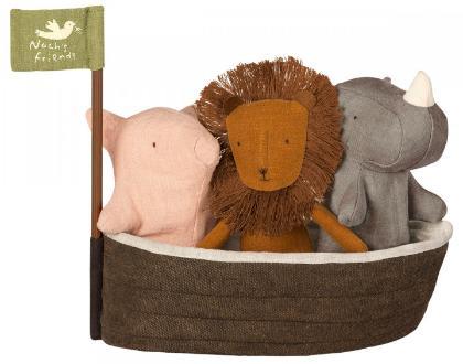 Maileg-Noahs-Arche-Noah-mit-3-Tieren