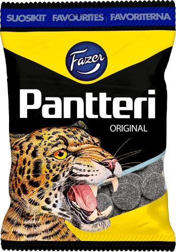 Fazer-Pantteri-Salz-Lakritzbonbons