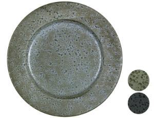 Bitz-Steingut-einfarbig-Teller-Platte-OE-30-cm