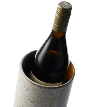 Bitz-Steingut-einfarbig-Weinkuehler