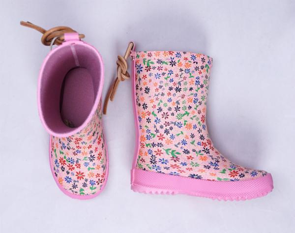 Bisgaard-Gummistiefel-mit-Blumen-rosa