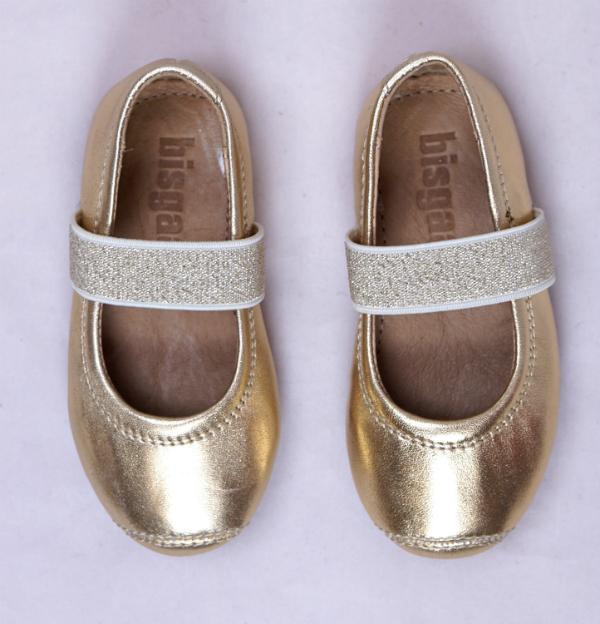 Bisgaard-Hausschuh-Ballet-Maedchen-gold