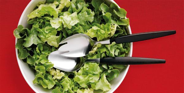 Gense Focus de Luxe Salatbesteck 2 tlg
