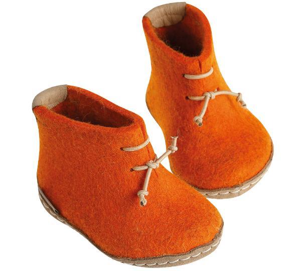 Glerups-Modell-GK-Kinderfilzstiefel-orange