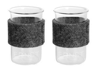 Ernst-Gloeggglas-mit-Filz-0-15-l-2-Stueck