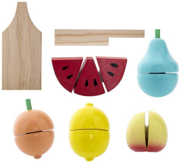 Bloomingville Lernspielzeug Früchte 7 tlg