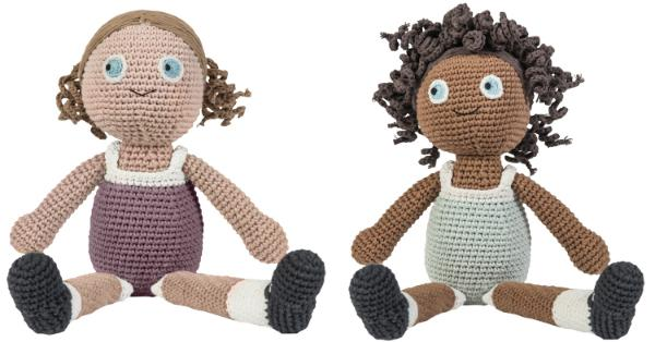 Sebra Puppe (gehäkelt)