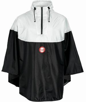 Nokian Hai Regencape schwarz, weiß