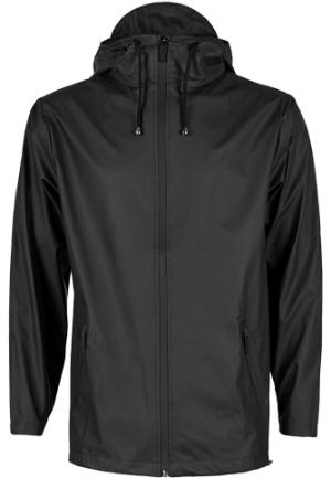 Rains Windbreaker schwarz