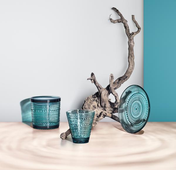 Iittala-Kastehelmi-Glas-30-cl-2-Stueck-Seeblau