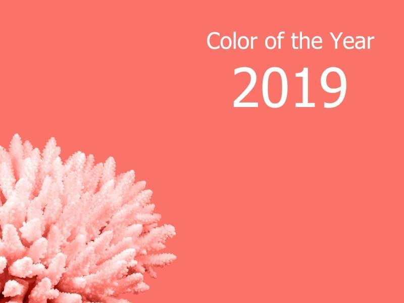 Pantone Farbe des Jahres 2019