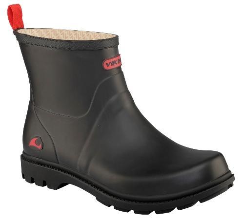 Viking-Footwear-Gummistiefel-low-Noble-Winter-schwarz-18271