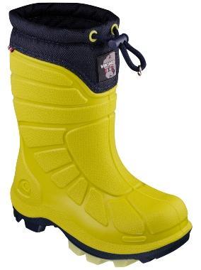 Viking Footwear Kinder Thermogummistiefel Extreme lime marine