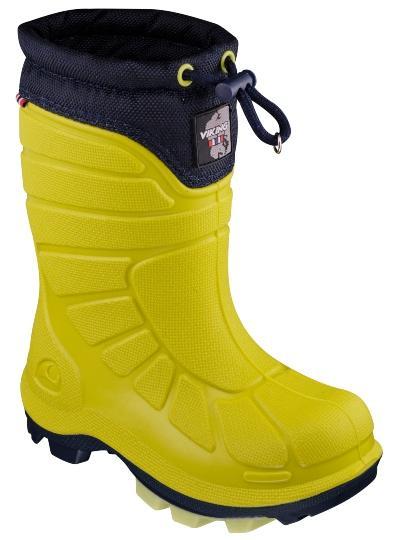 Viking-Footwear-Thermogummistiefel-Extreme-lime-marine-18426