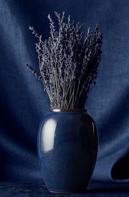 Bitz-Steingut-Vase-Hoehe-20-cm-blau