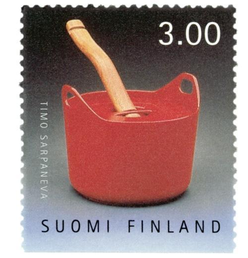 Iittala-Sarpaneva-Topf-3-l-416-Briefmarke