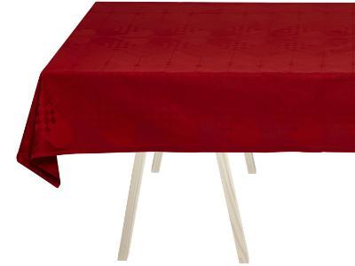 Georg-Jensen-Damask-Weihnachten-Tischdecke-rot-rot