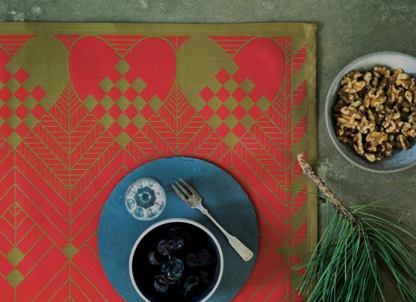 Georg-Jensen-Damask-Weihnachten-Tischset