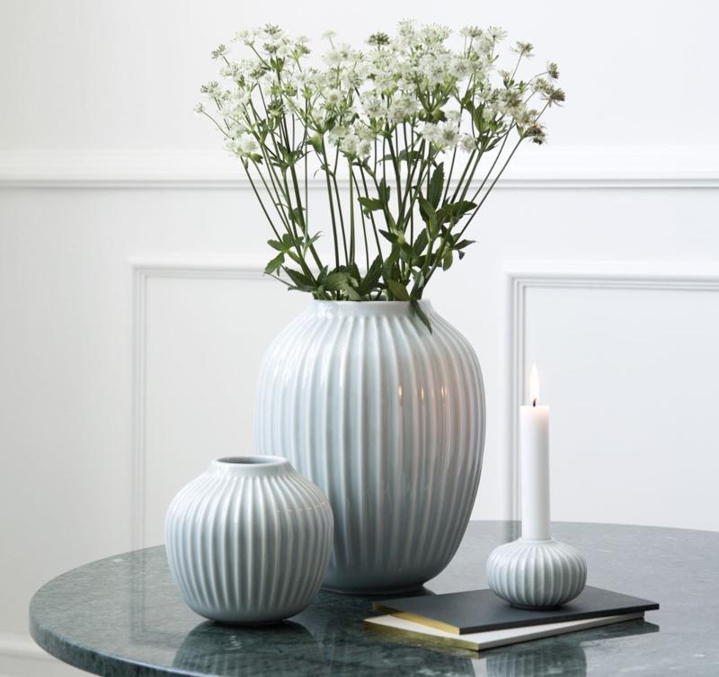 Kaehler-Design-Hammershoei-Vase-Hoehe-25-cm-mint-6337