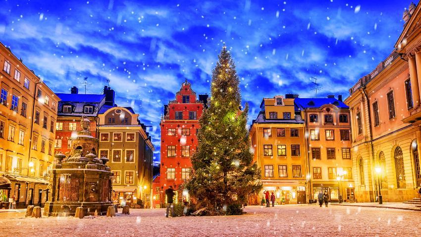 Weihnachten in Stockholm