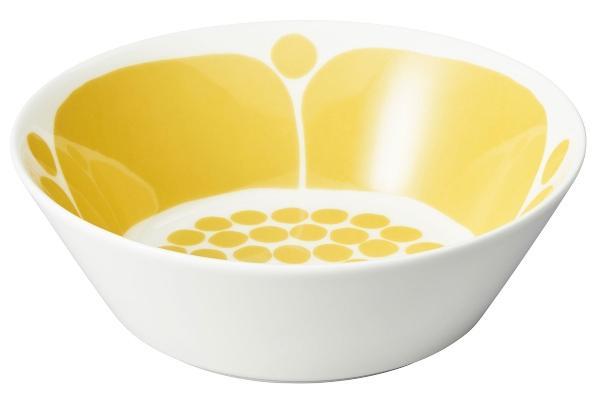 Arabia-Sunnuntai-Schuessel-oder-Teller-tief-OE-17-cm-gelb-cremeweiss-18447