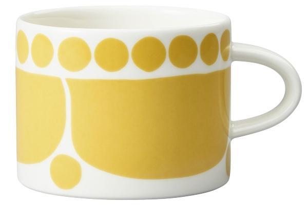 Arabia-Sunnuntai-Tasse-0-28-l-gelb-cremeweiss-18452