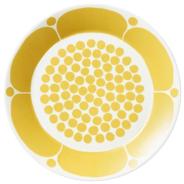 Arabia-Sunnuntai-Teller-OE-26-cm-gelb-cremeweiss-18445