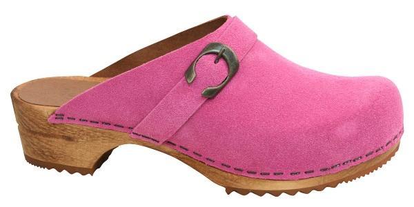 Sanita-Damen-Clogs-Holz-Hedi-offen-pink