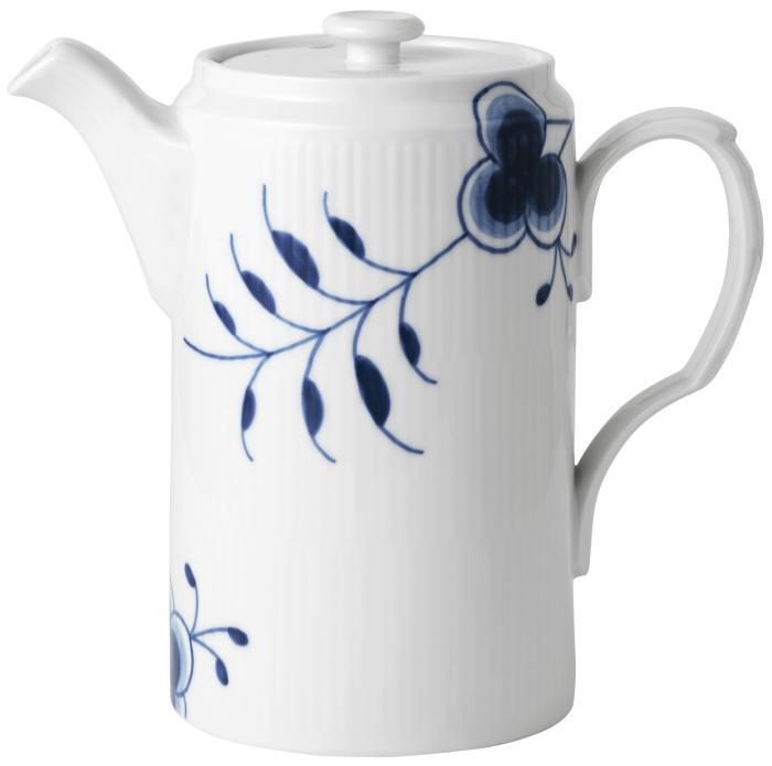 Royal-Copenhagen-Mussel-Mega-blau-Kaffeekanne-1-1-l-Jubilaeum-19190