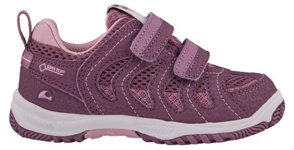 Viking Footwear Unisex Kinder Sneaker Cascade II GTX farbige Sohle bordeaux
