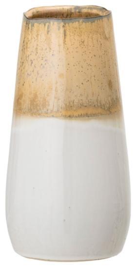 Bloomingville Vase Steingut Hoehe 24 cm