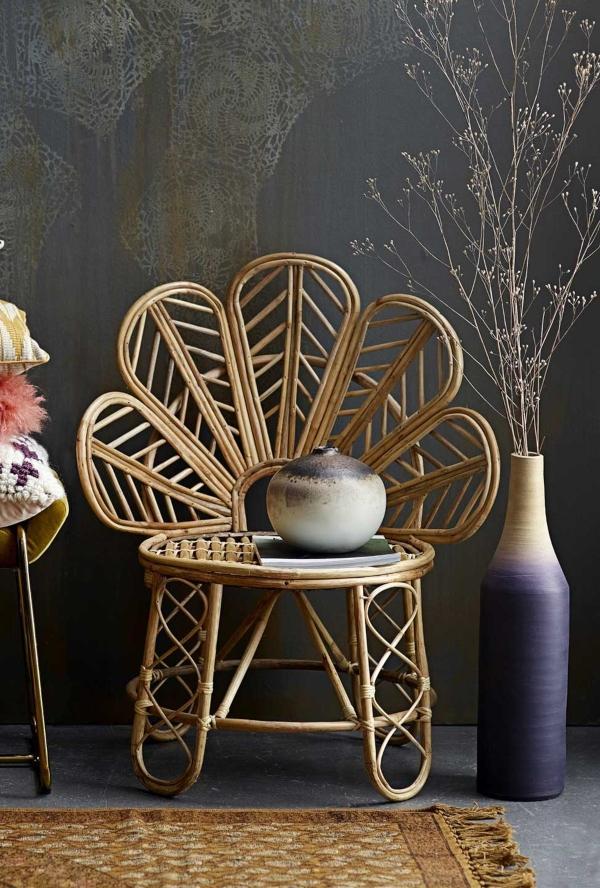 Bloomingville Vase mehrfarbig Terrakotta Hoehe 59,5 cm