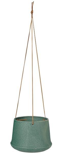 Broste Copenhagen Caroline Blumenuebertopf zum Haengen Hoehe 15,5 cm