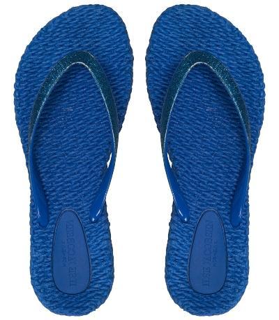 Ilse Jacobsen Damen Zehenlatschen CHEERFUL01 direkt blau flip-flops-cheerful