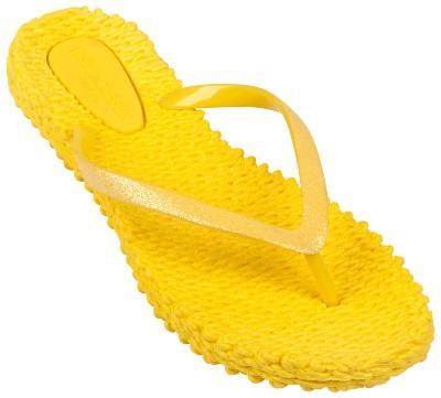 Ilse Jacobsen Damen Zehenlatschen CHEERFUL01 gelb