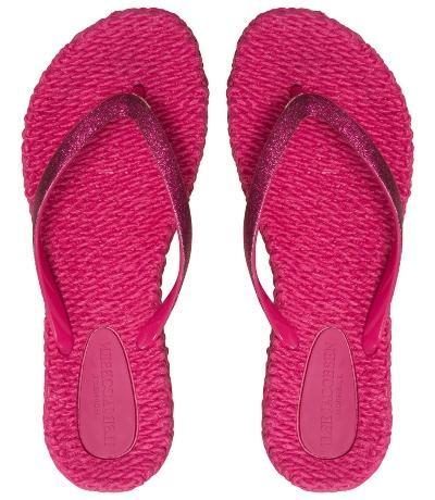 Ilse Jacobsen Damen Zehenlatschen CHEERFUL01 warm pink flip-flops-cheerful
