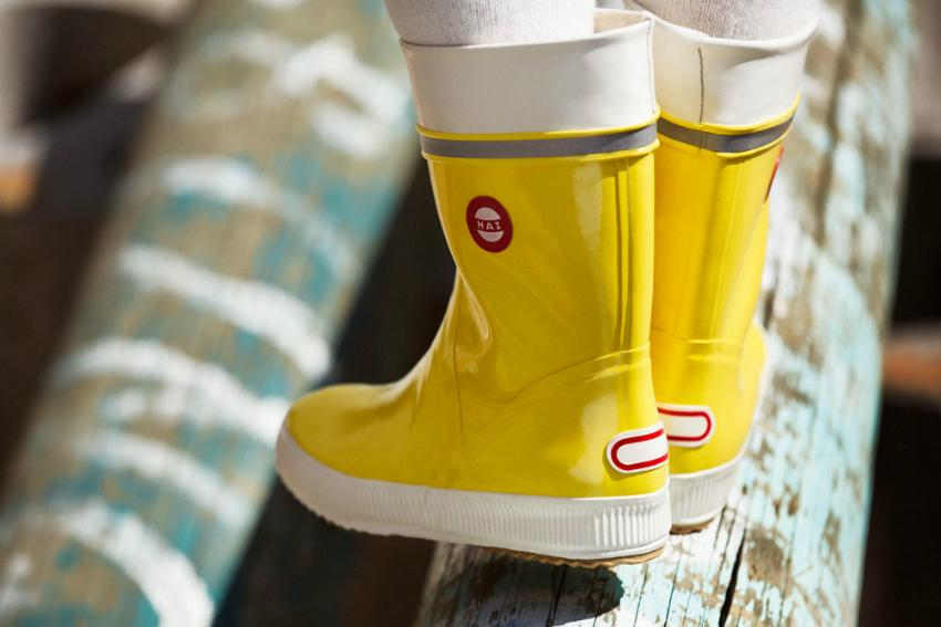 Nokian Footwear Gummistiefel Hai gelb