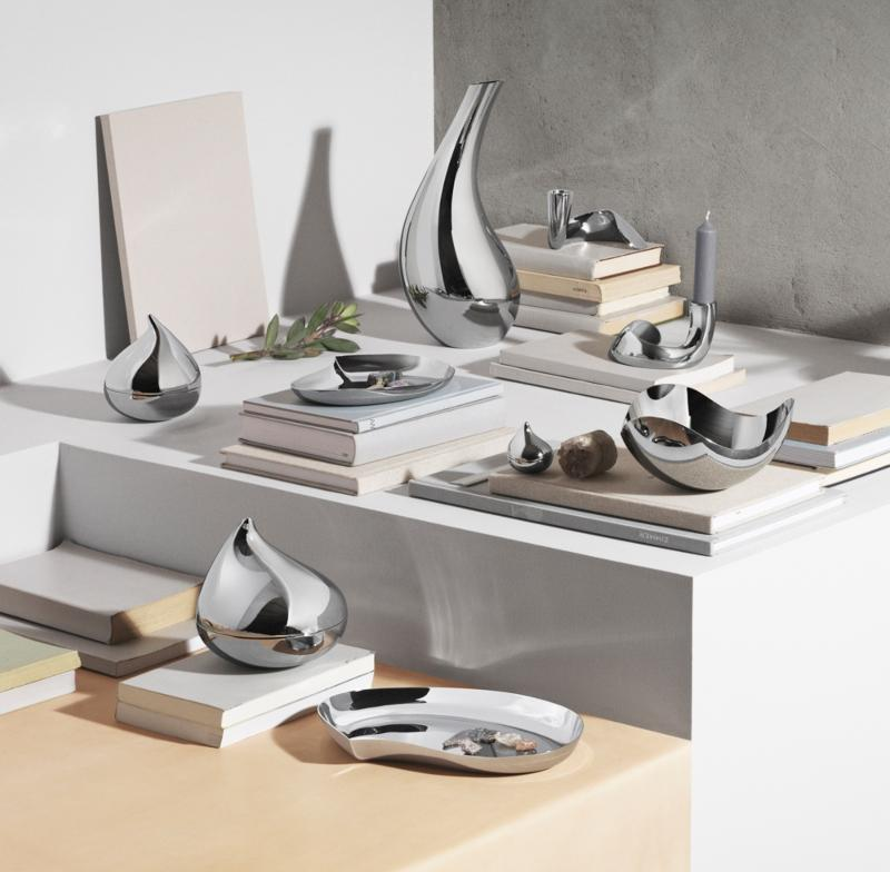 Georg Jensen Bloom Kerzenstaender 2 Stk